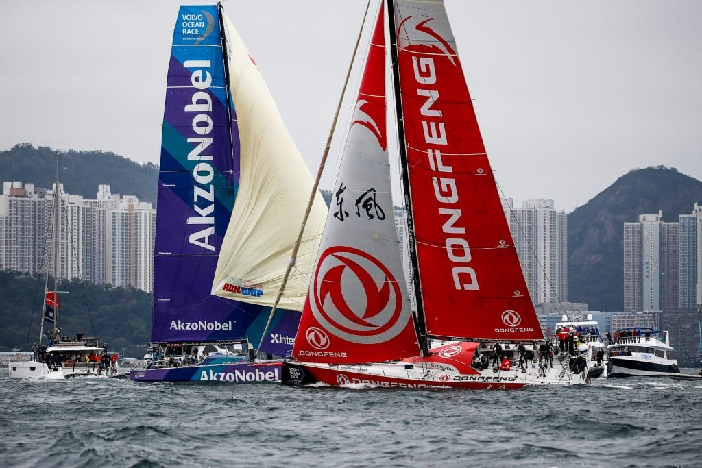 Volvo Ocean Race in Hong Kong